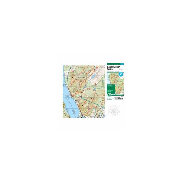 Ny Nj Trail Conference - Map - East Hudson Trails - NJ