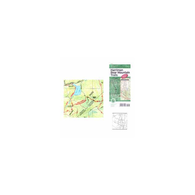 Ny Nj Trail Conference - Map - Harriman Bear MT Trails - NY