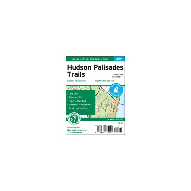 Ny Nj Trail Conference - Map - Hudson Palisades Trails - NY