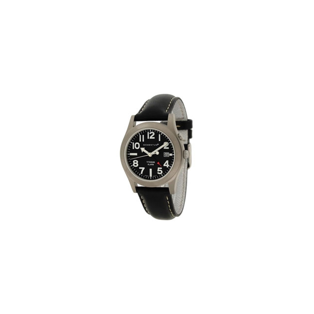 St. Moritz - Momentum by St Moritz watch corp Pathfinder II Titanium Watch with Leather Band
