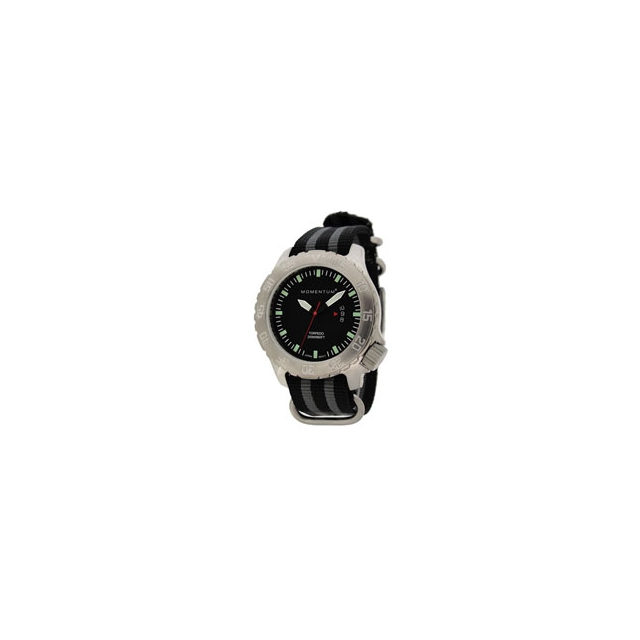 St. Moritz - Momentum by St Moritz watch corp Torpedo Watch with Black Face - Men's