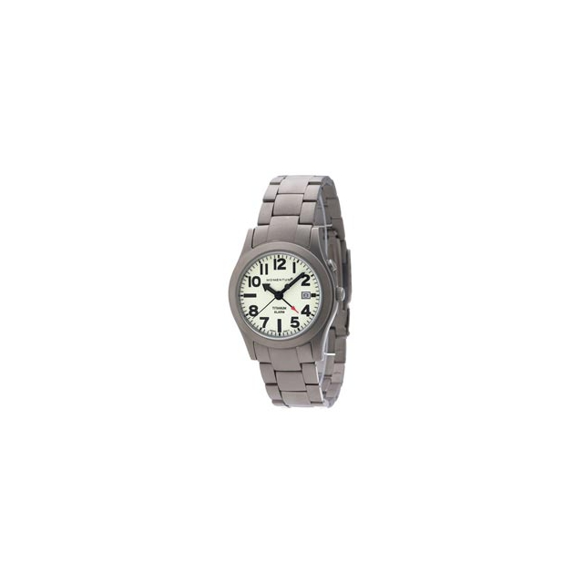 St. Moritz - Momentum by St Moritz watch corp Pathfinder II Titanium Watch with Bracelet - White In Size: Large