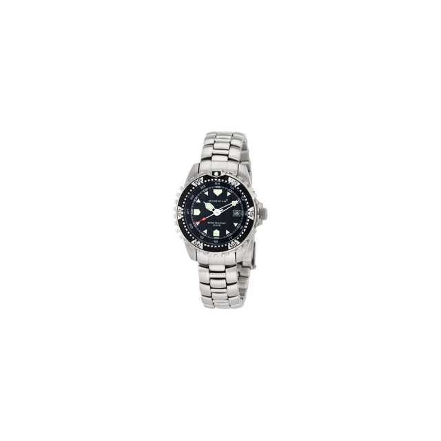 St. Moritz - Momentum by St Moritz watch corp M1 Metal Bracelet Dive Watch - Black In Size: Large