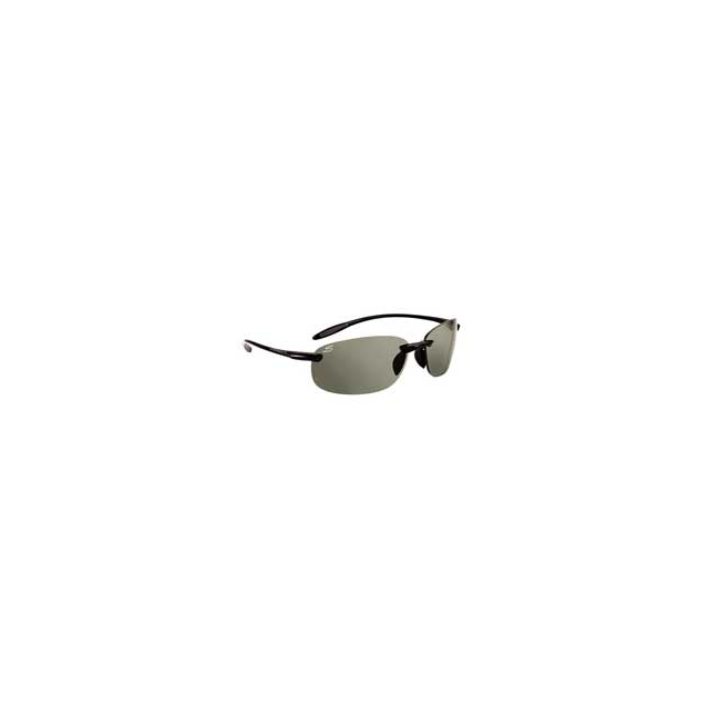 Serengeti - Nuvino Sunglasses with Polarized Lenses - Black/Polar PhD