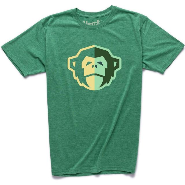 Howler Brothers - El Mono T Shirt Mens - Spring Green Heather XL