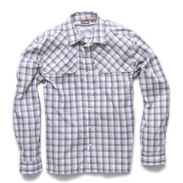 Howler Brothers - Pescador Shirt Mens - Tyson Plaid/Zeppelin Grey M