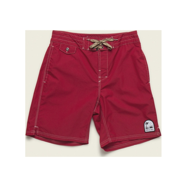 Howler Brothers - Mens Buchannon Boardshorts - Closeout Lifeguard Red 32