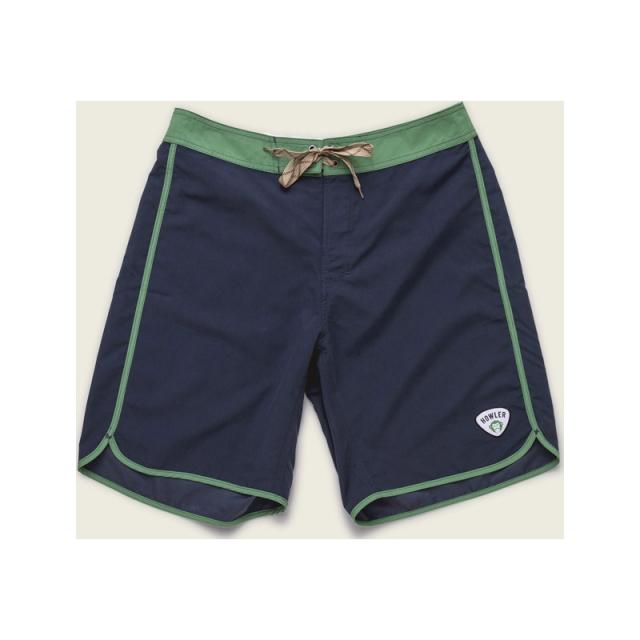 Howler Brothers - Mens Bruja Boardshorts - Closeout Tsunami Blue/Green