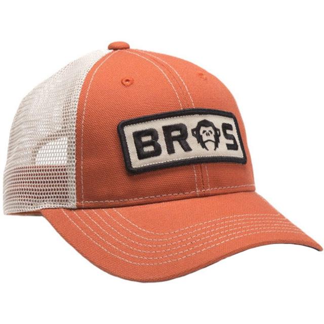 Howler Brothers - Bros Patch Hat Mens - Orange Denim