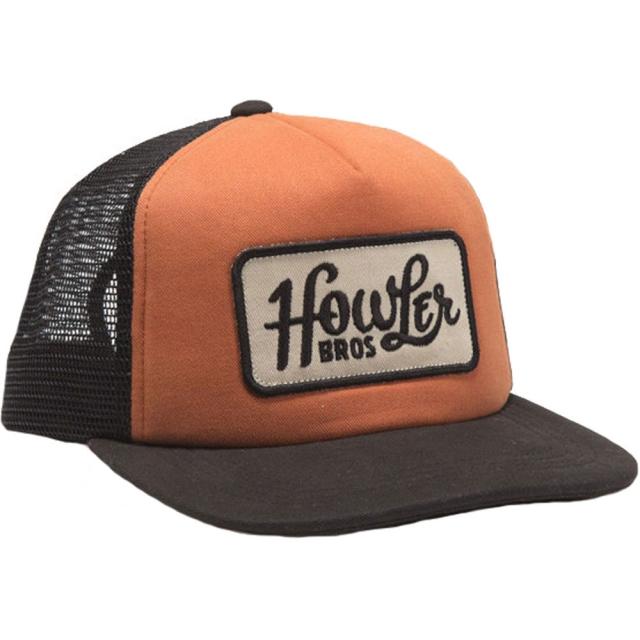 Howler Brothers - Howler Classic Snapback Mens - Tangerine / Black