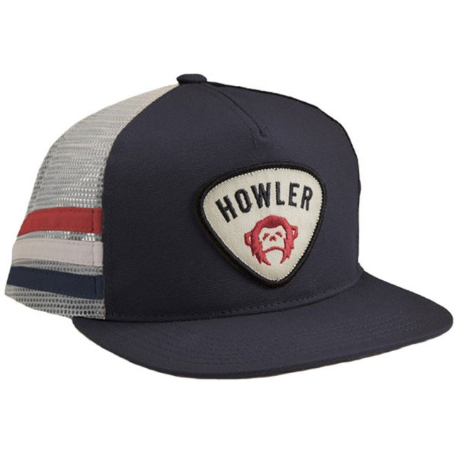 Howler Brothers - Ranger Snapback Mens - Navy W/ Stripes