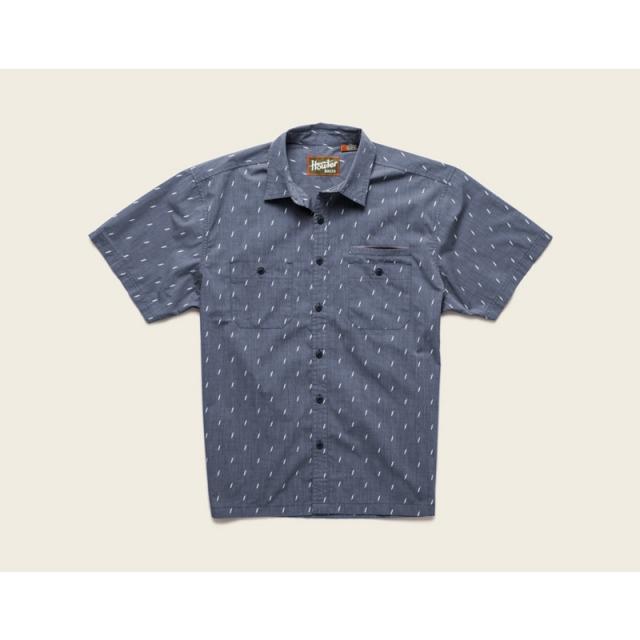 Howler Brothers - Aransas Short Sleeve Shirt Mens - Blue Bolt S