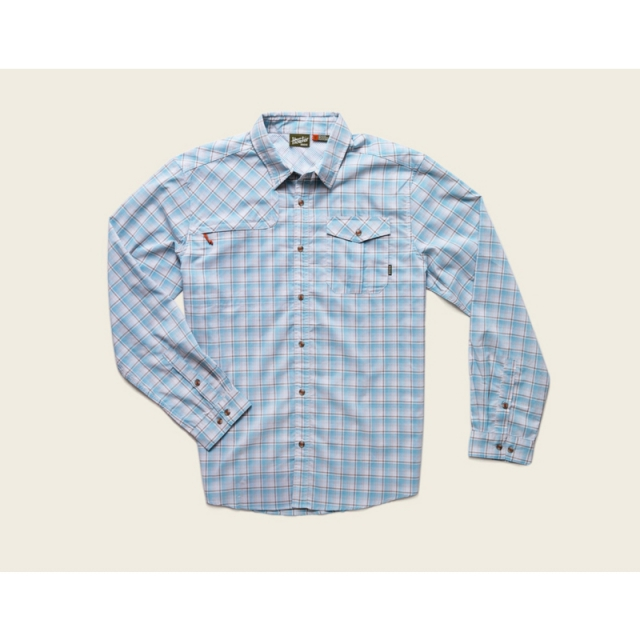 Howler Brothers - Mens Matagorda Shirt - New Sadler Plaid: Crustacean