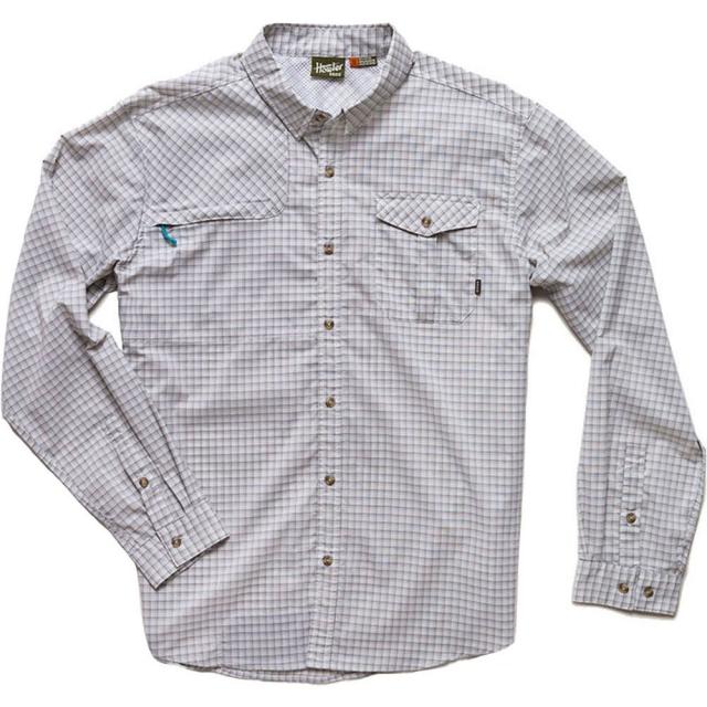 Howler Brothers - Matagorda Shirt Mens - Morrison Plaid: Sand S