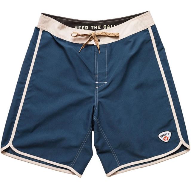 Howler Brothers - Bruja Boardshort Mens - Harbor Blue / White 30