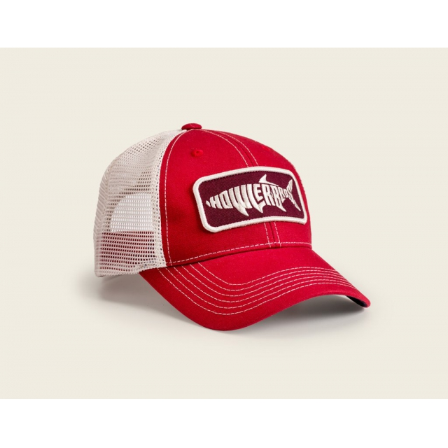 Howler Brothers - Howler Brothers Silver King Mesh-Back Trucker Hat-Red