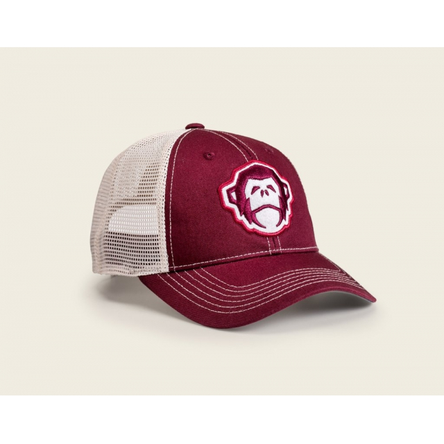 Howler Brothers - Howler Brothers El Mono Mesh-Back Hat-Crimson