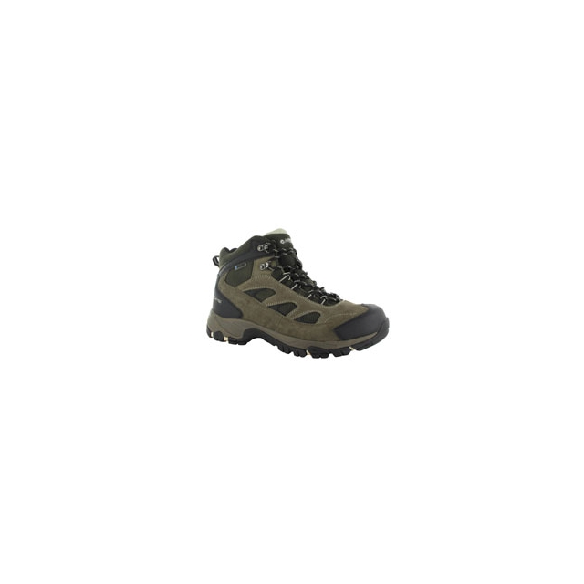 Hi-Tec Sports - Logan Waterproof Hiking Boot - Men's - Smokey Brown/Olive/Snow In Size