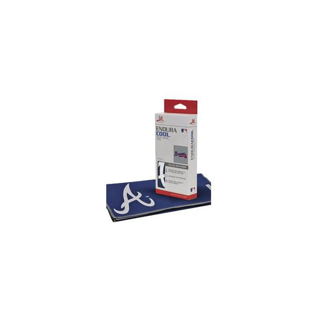 Mission - Atlanta Braves EnduraCool Instant Cooling Towel - Navy