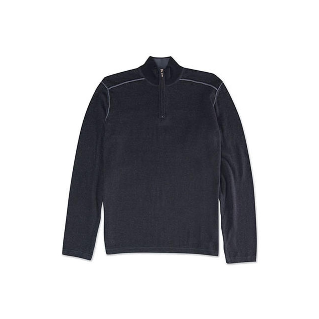 Ecoths - Men's Noah Zip Neck Sweater