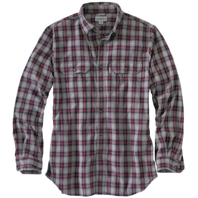 Carhartt - Men's Fort Plaid Long Sleeve Shirt