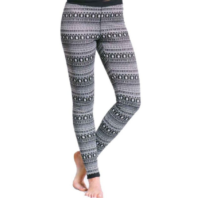 Purnell - Women's Nordic Print Base Leggings