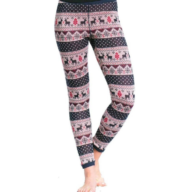 Purnell - Women's Winter Print Base Leggings