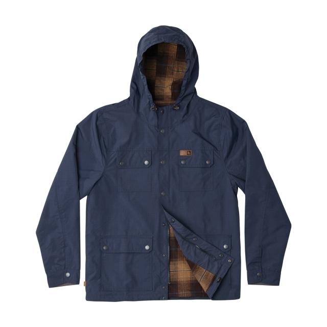 Hippytree Clothing - - HERON JACKET - X-LARGE - Navy