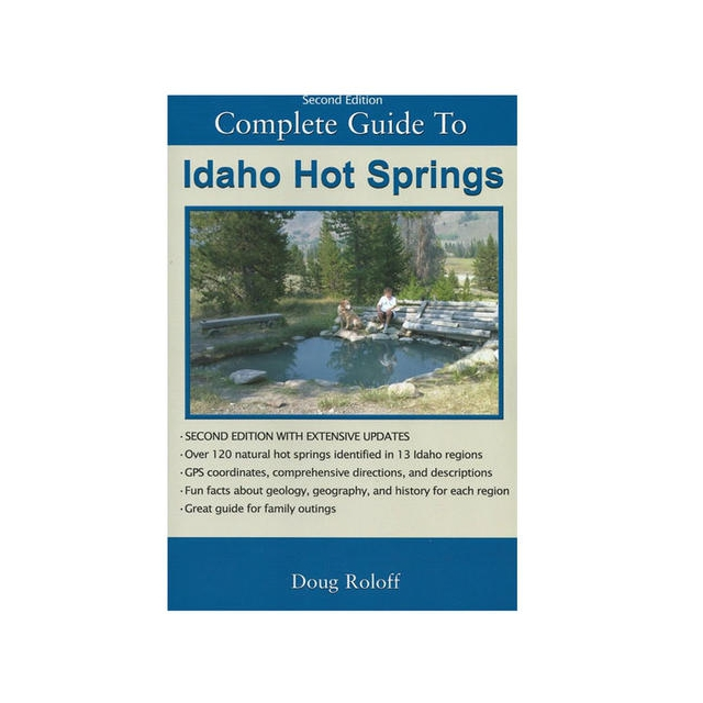 Media ( Books, Maps, Video) - Idaho Hot Springs Guide Book 2nd Ed