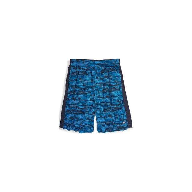 Layer 8 - Printed Knit Training Shorts - Men's - Dark Navy Greystone Static Print In Size