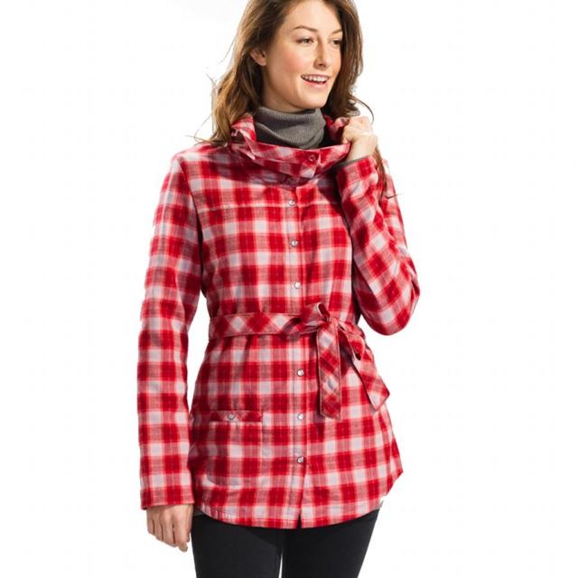Lole - - Cecilia Shirt Womens - 6 - Sorita Thermal Plaid