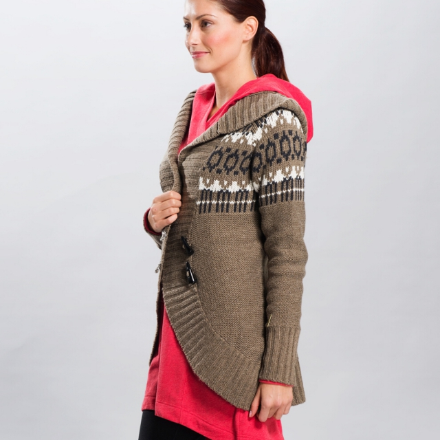 Lole - - Caress Sweater - X-Large - Walnut Heather