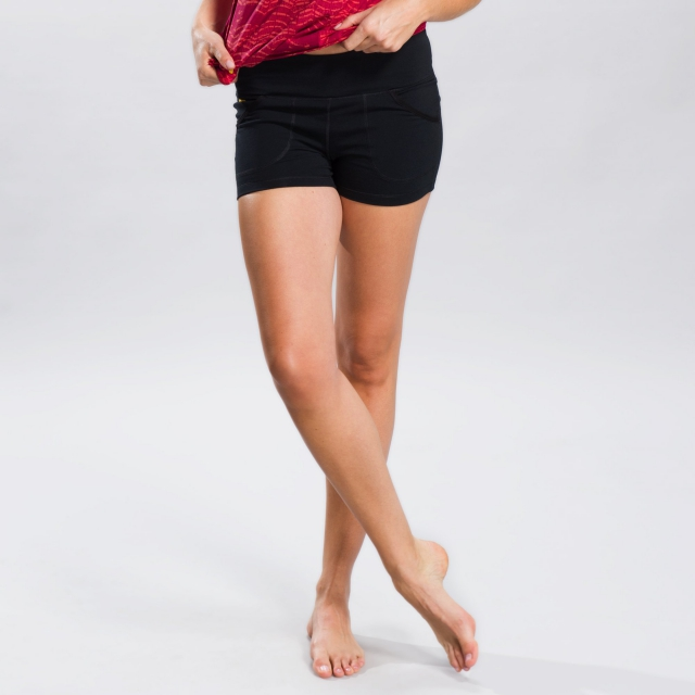 Lole - Navasana Short - Women's Black X-Large