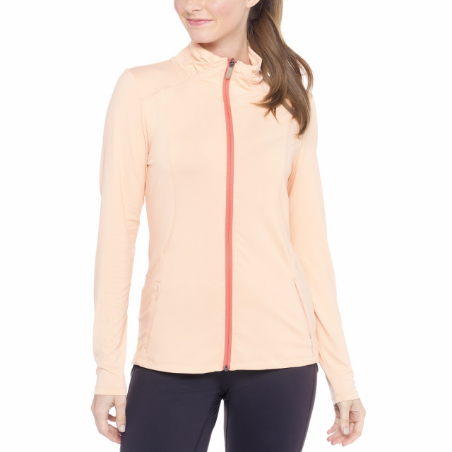 Lole - Womens Essential Cardigan Cantaloupe (Spring 2015