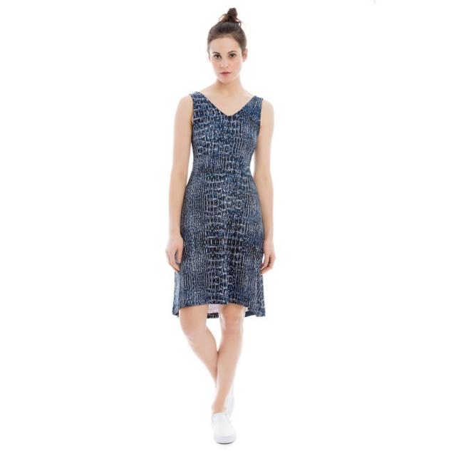 Lole - womens saffron dress limoges blue dundee