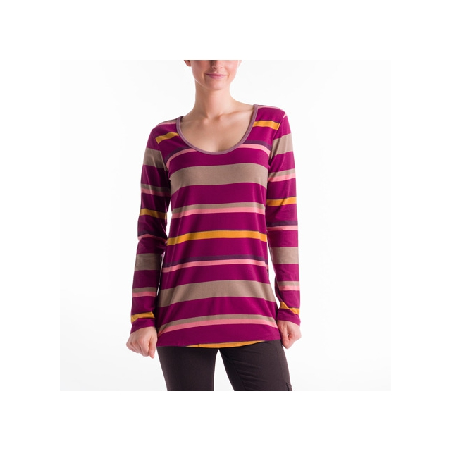 Lole - - Megan 2 Top - X-Large - Beaujolais Multi