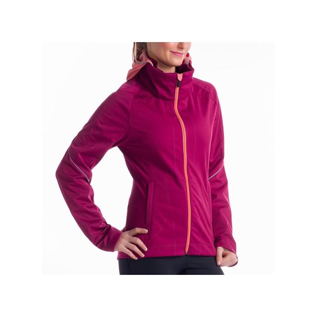 Lole - - Daylight Jacket - X-Large - Beaujolais