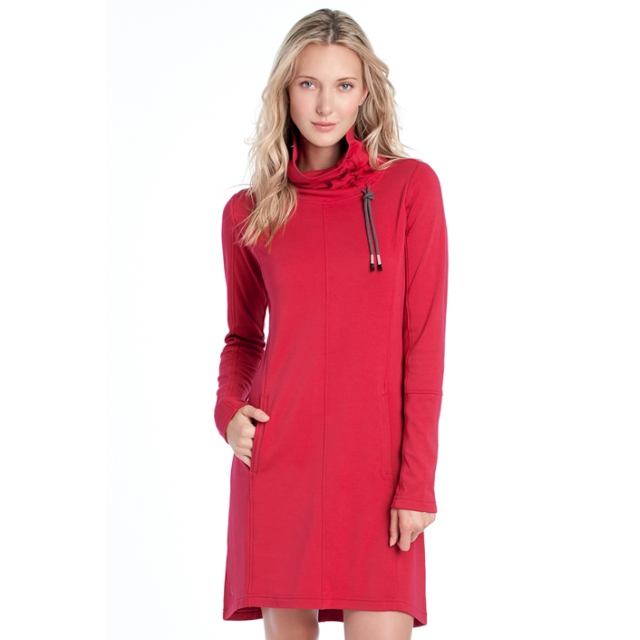 Lole - womens call me dress red sea