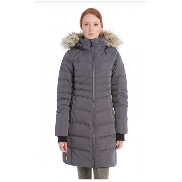 Lole - womens katie jacket dark charcoal
