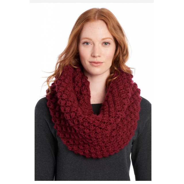 Lole - womens eternity scarf popcorn rumba red