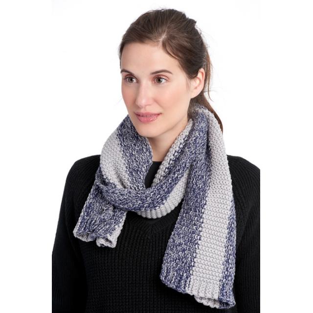 Lole - womens 2 tone smu scarf amalfi blue