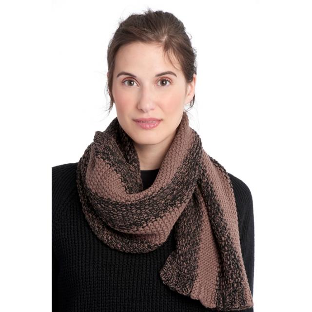 Lole - womens 2 tone smu scarf black