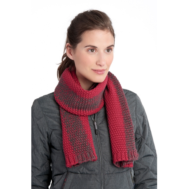 Lole - womens 2 tone smu scarf red sea