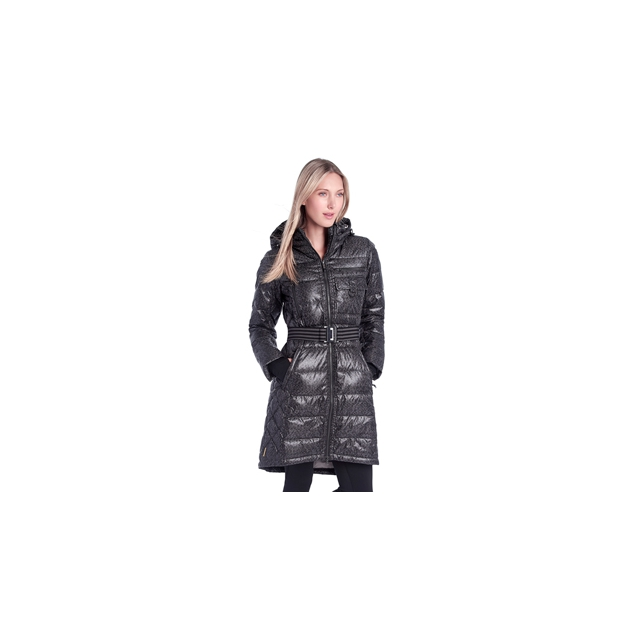 Lole - womens emmy jacket black and dark charcoal east side