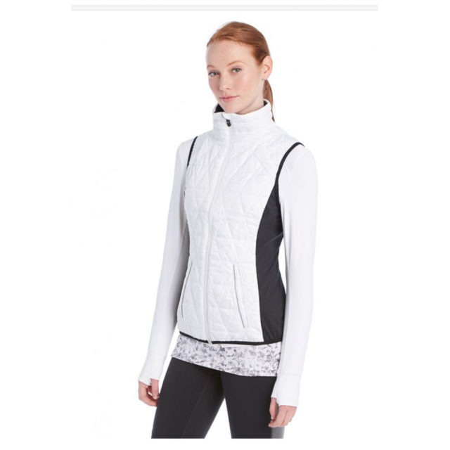 Lole - womens icy vest white