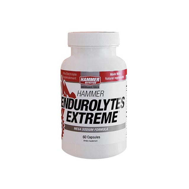 Hammer - Endurolytes Extreme Electrolyte Replenishment Capsules - Pack of 60