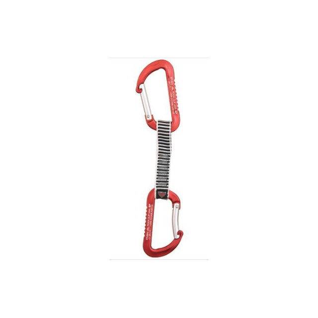 Stubai - quickdraws rock clip anodized nylon