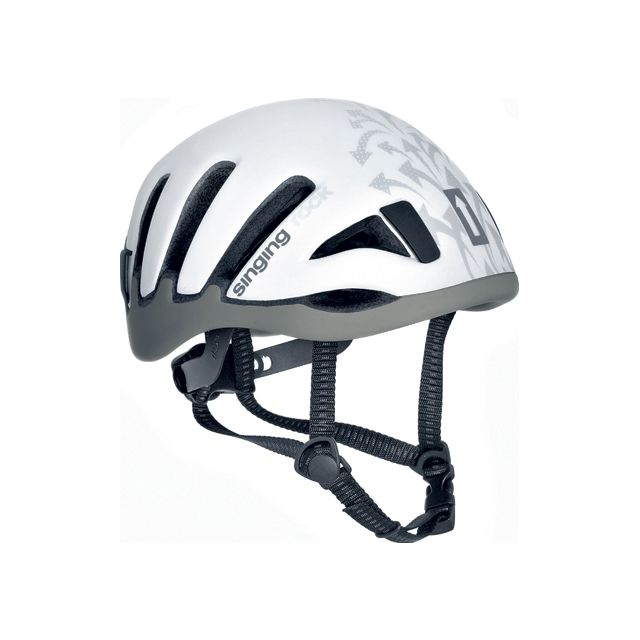 Singing Rock - terra ii helmet grey