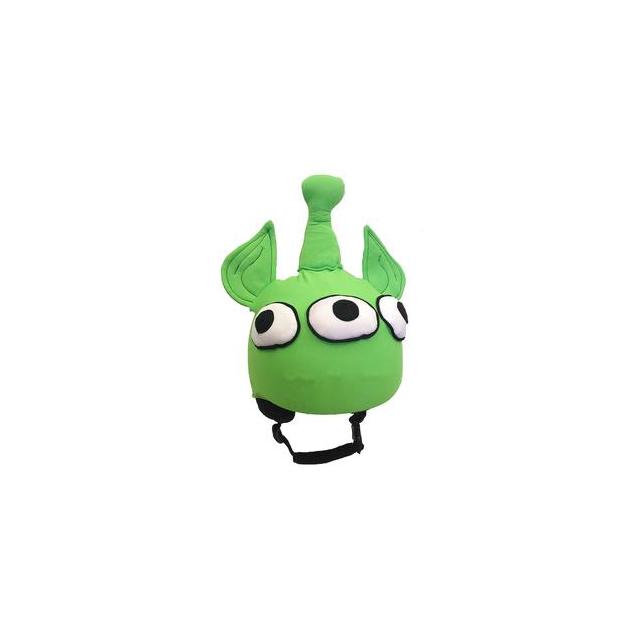 Mental Headgear - Mental Martian Helmet Cover Kids', Green,
