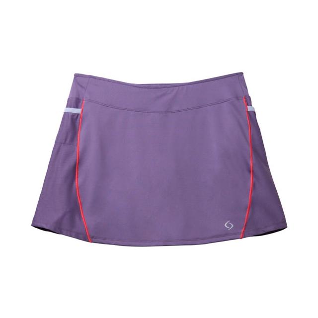 Moving Comfort - - Momentum Skort - X-Small - Grape Soda/Flamingo